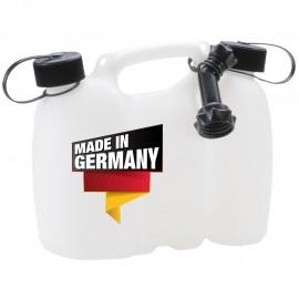 Tanica Separata 3litri - 1.5 litri miscela - olio catena
