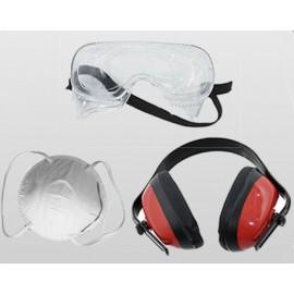 Set accessori protettivi 3 pezzi