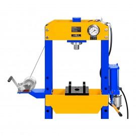 Pressa idropneumatica manuale presse idrauliche 30 tonnellate