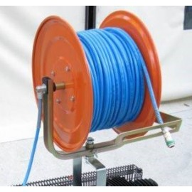 Avvolgitubo pneumatico con 50 mt tubo Poliuretano aria compressa