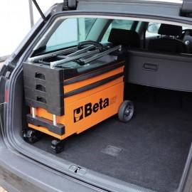 Beta Tools Carrello portautensili pieghevole in acciaio