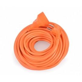Cavo elettrico prolunga 20mt a tre fili sezione 1.5mm