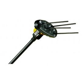 Abbacchiatore elettrico a batteria Volpi Giulivo 4YOU - scuotitore per olive su asta con prolunga