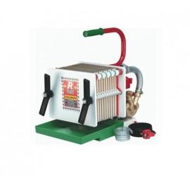 Pompa elettrica con filtro da vino a piastre e cartoni - Rover Colombo 12