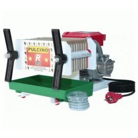 Pompa elettrica con filtro da vino a piastre e cartoni - Rover Pulcino 10