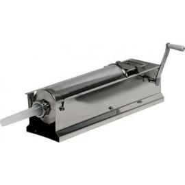 Insaccatrice manuale da tavolo INOX Palumbo Pavi - Doppia velocità - Capacità 8 Kg