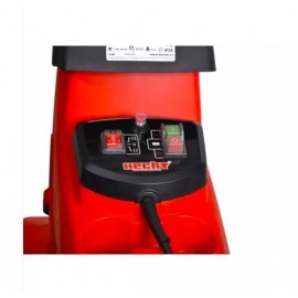 Biotrituratore elettrico Hecht 6285XL Silent a coltelli reversibili