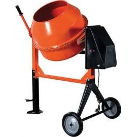 Betoniera calcestruzzo 120L 550W acciaio Arancio