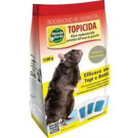TOPICIDA RODIMOND PASTA BLU GR 1500