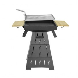 Barbecue griglia a carbone Hecht Vesuv 3in1