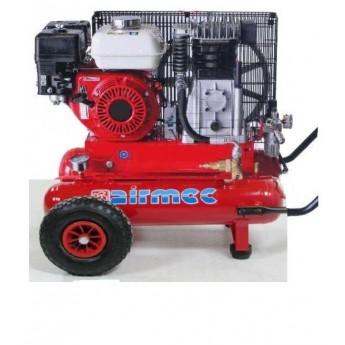 Motocompressore benzina Airmec (680 lt/min) con motore Honda GX200