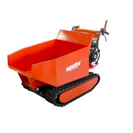 Motocarriola trasporter Hecht 2950 cassone dumper idraulico 500kg