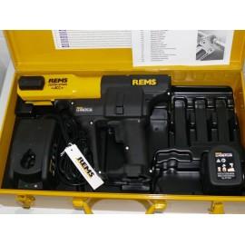 Pressatrice Rems Portatile a batteria Li-Ion con valigetta