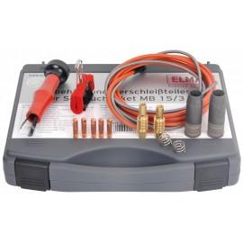 Valigetta Set di parti soggette ad usura per pacchetto di tubi MB 25 e MB EVO 25 / 3m / 1.0mm