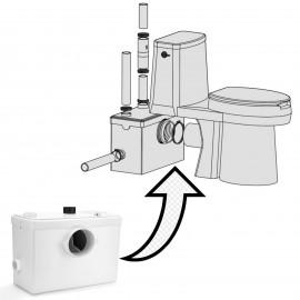 Pompa trituratore per WC lavabo vasca doccia elettrodomestici 600W