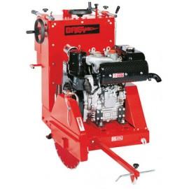 Tagliasfalto segatrice pavimenti disco Breaker GL700 motore Honda GX630 21hp 700mm 2 cilindri