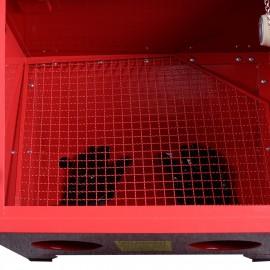 Sabbiatrice da banco 90lt litri con accessori cabina di sabbiatura