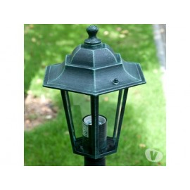 LAMPIONI DA GIARDINO LANTERNE 6X, H110 CM. VERDE SCURO
