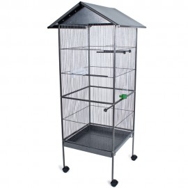 Uccelli voliera gabbia casetta animali pappagallo
