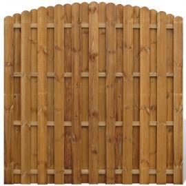 Pannello di recinzione in legno naturale pino